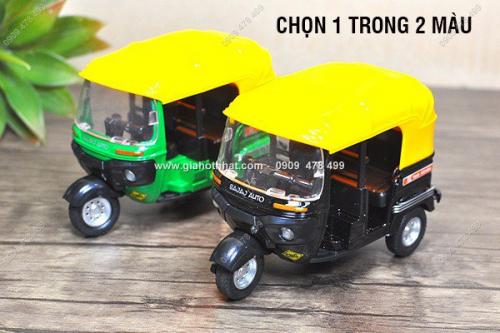 Giá Hot Nhất - MS: 9970 - XE MO HINH TI LE 1/26 - TUK TUK DE THUONG