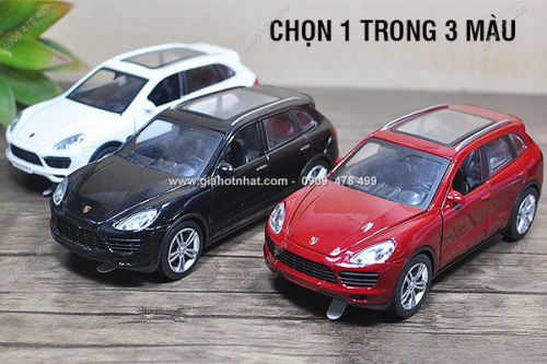 Giá Hot Nhất - MS: 9849 - XE MO HINH SAT TI LE 1/32 - SUV PORSCHE CAYNENE TURBO - MZ