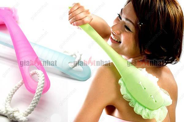 CÂY BÔNG TẮM với hạt tạo bọt cho bạn thoải mái thư giãn khi tắm