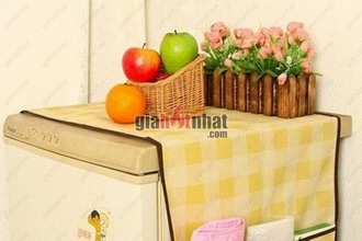 Bảo vệ và giữ sạch nóc tủ lạnh với Tấm phủ tủ lạnh