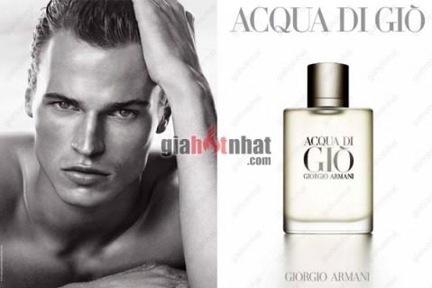 Nước hoa nam AQUA DI GIO hương thơm tinh khiết và nồng nàn mùi gỗ, mùi hương...