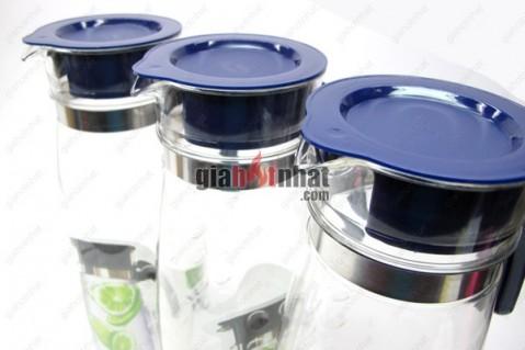 Bình đựng nước 2 Lít cao cấp,thiết kế thon nhỏ, đẹp mắt, dùng để đựng...