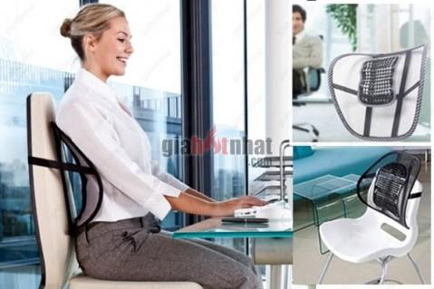 Tấm tựa lưng ghế giúp cảm giác thoải mái, an toàn cho cột sống.Đặc biệt,...