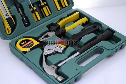 Bộ dụng cụ sửa chữa 11 món được làm từ thép bền, sáng bóng, không...