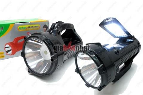 Đèn sạc pin siêu sáng 2 chức năng đèn pin và chiếu sáng cơ bản trong phòng