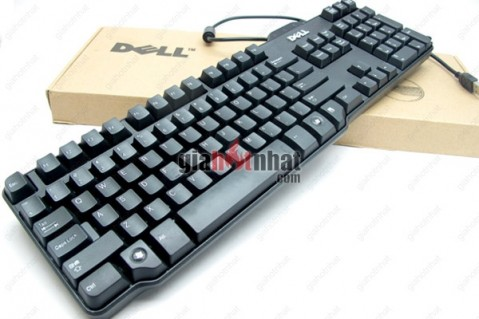 Bàn phím chính hãng Dell nhỏ gọn, thiết kế thông minh, đầy đủ các chức năng...