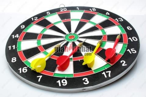 Bộ trò chơi phóng phi tiêu với 6 mũi tên darts, giải tỏa stress và rèn thêm kỹ...