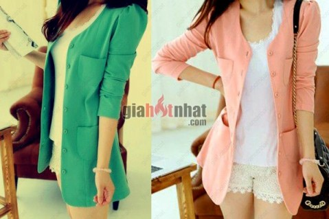 Áo khoác Blazer form dài phong cách Hàn Quốc là mẫu áo khoác được nhiều bạn...