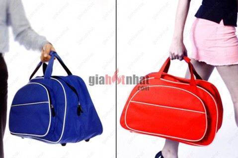 Túi xách du lịch chất liệu Kaki với màu sắc nổi bật giúp bạn đựng được...