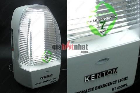 Đèn chiếu sáng khẩn, sáng cấp tức thì khi mất điện, hiệu KENTOM 2300 nổi...