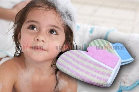 GĂNG TAY TẮM từ sợi cotton - cho bạn cảm giác thư giãn tối đa khi tắm
