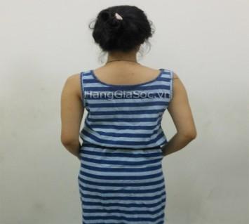 Đầm Jean sọc ngang - 1 - Thời Trang và Phụ Kiện