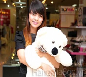 Gấu bông cao 1m xinh xắn
