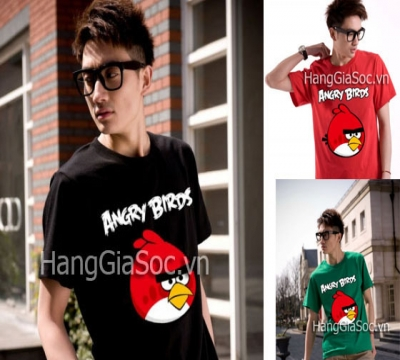 N410 :Áo AngryBird couple