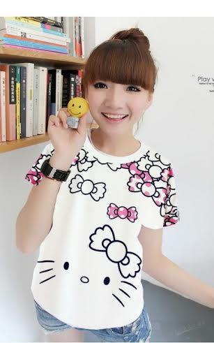 Áo thun Hello Kitty