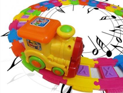 Bộ đồ chơi xe lửa ANFA GROW