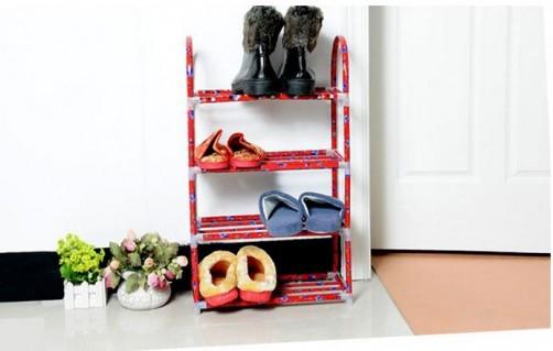 Kệ giày dép đa năng 4 tầng nhỏ gọn