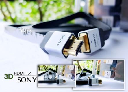 Cáp HDMI Sony 1.4 hổ trợ 3D dài 2m