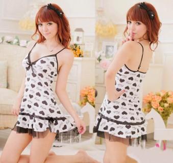 Đầm Ngủ Dây Cute