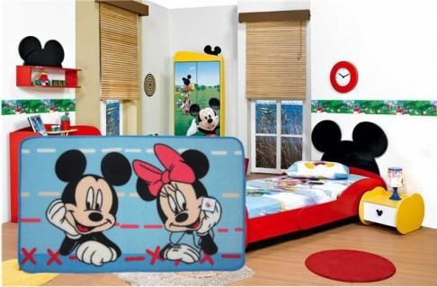 2-Thảm dẫm chân Chuột Mickey xinh xắn