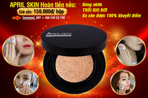 HCM Deal VN - Phan Nuoc April Skin Magic Snow Cushion SPF50+