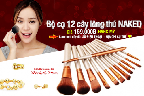 HCM Deal VN - Bo Co Long Thu Naked 3 Gom 12 Cay Co Full Size