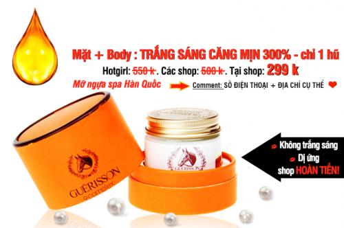 HCM Deal VN - Kem Duong Trang Da Mo Ngua