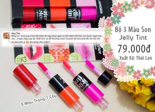 HCM Deal VN - Bo 3 Son Jelly Thai Lan