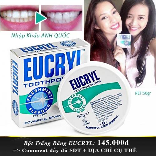 HCM Deal VN - Bot Trang Rang EUCRYL Nhap Khau Anh Quoc