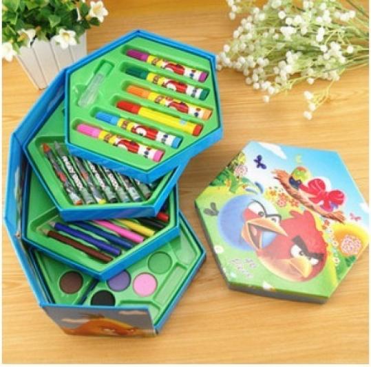 Hộp bút màu xoay hộp với thiết kế mới lạ, phong cách độc đáo, quà tặng giúp bé yêu vui học chỉ với 95.000đ