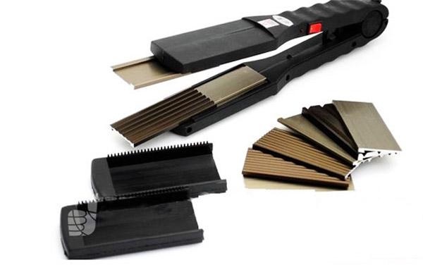 Sáng tạo kiểu tóc thẳng, xoăn, bồng bềnh, gợi cảm với Máy duỗi uốn tóc đa năng - thiết kế hiện đại, đơn giản chỉ 115.000