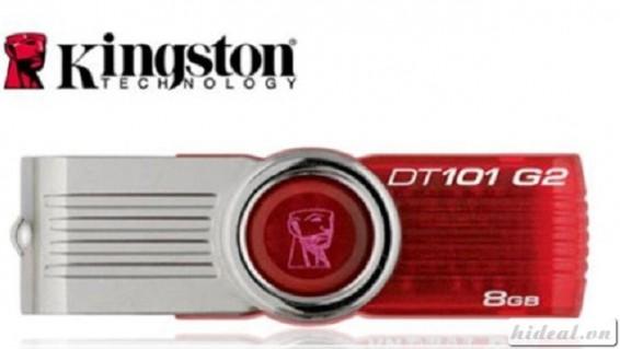 Usb Kingston 8Gb bảo hành 2 năm chỉ còn 135.000. Tốc độ sao lưu dữ liệu cực nhanh.