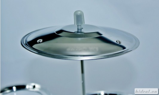Bộ nhạc cụ trống Jazz Drum kích thích sự phát triển cho trí não trẻ chỉ 88.000đ
