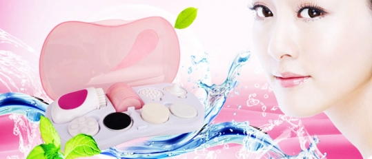 Máy massage rửa mặt Facial Cleanser 7 in 1