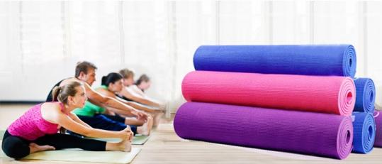 Thảm tập Yoga cao cấp (kèm túi đựng)