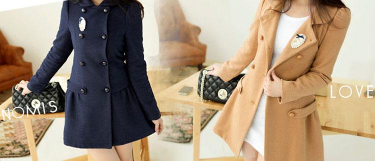 Áo khoác dạ trendcoat thời trang WH 004