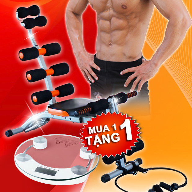 HOT - May tap da nang Six Pack Care Good For 3073 (tang can suc khoe)
