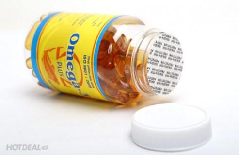 Viên Uống Omega 3 Plus – Bổ Sung Dưỡng Chất Cho Cơ Thể, Hỗ Trợ Ngăn Ngừa Các Bệnh Tim Mạch, Phát Triển Trí Não, Làm Đẹp Da... Giá 135.000 VNĐ, Còn 89.000 VNĐ, Giảm 34%.