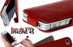 Bao Da iPhone 4/4S Hiệu ViVa - Thiết Kế Tinh Xảo, Kiểu Dáng Thời Trang, Thể Hiện Đẳng Cấp Của Bạn. Giá 370.000 VNĐ, Còn 185.000 VNĐ, Giảm 50%,