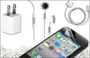 Bộ Sản Phẩm Cho iPhone Gồm: Cáp, 1 Sạc, 1 Tai Nghe Có Micro Nói Có Micro, 1 Dán Màn Hình Cao Cấp. Giá 160.000 VNĐ, Còn 80.000 VNĐ, Giảm 50%.