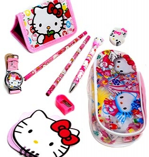 Hot Deal - Bo Do Dung Hoc Tap Hello Kitty Cho Be Gai