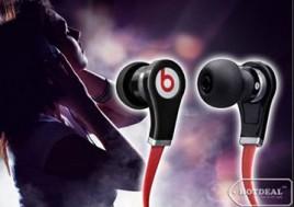 Thưởng Thức Âm Nhạc Mọi Lúc, Mọi Nơi Theo Phong Cách Riêng Với Tai Nghe Beats Audio Có Mic Cho Iphone, Ipod, Ipad. Voucher Trị Giá 550.000 VNĐ, Còn 279.000 VNĐ, Giảm 49%.
