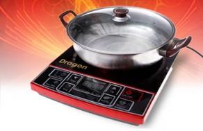 Nấu Nướng An Toàn, Nhanh Chóng Hơn Với Bếp Điện Từ Dragon Tặng Kèm Nồi Nấu Lẩu. Voucher 1.220.000 VNĐ, Còn 550.000VNĐ, Giảm 55%.