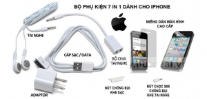 Hot Deal - Combo 7 Mon Cho iPhone