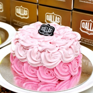 Hot Deal - Banh Sinh Nhat Rose Tai Dallas Cakes & Coffee