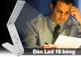 Đèn Led KMS 6638 - 16 Bóng – Hoạt Động Qua Pin AAA Hoặc Cổng Cắm USB, Cho Bạn Thoải Mái Học Tập Và Làm Việc Ban Đêm Cùng Máy Tính. Sản Phẩm Trị Giá 170.000Đ Chỉ Còn 85.000Đ. Giảm 50% Tại