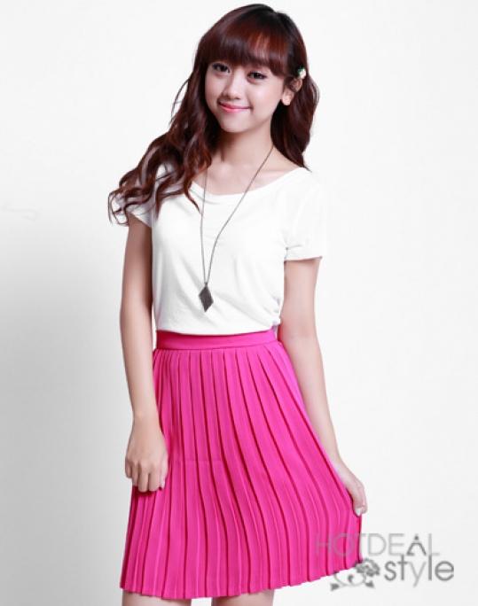 Chân Váy Dập Ly Hàn Quốc