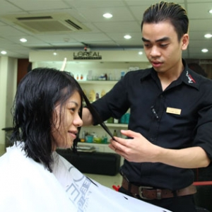 Hot Deal - Uon/ Duoi/ Nhuom Theo Phong Thuy Salon Ngoc Nu