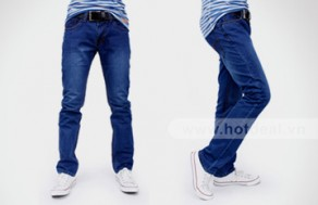 Quần Jeans Nam Levi's Premium – Kiểu Dáng Đơn Giản, Màu Sắc Trẻ Trung – Cho Phái Mạnh Thể Hiện Phong Cách Năng Động, Cá Tính. Giá 420.000 VNĐ, Còn 225.000 VNĐ, Giảm 46%.