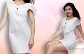 Váy Trắng Tay Voan – Kiểu Dáng Nhẹ Nhàng, Tinh Tế - Cho Bạn Gái Thêm Tự Tin Và Xinh Xắn. Giá 298.000 VNĐ, Còn 149.000 VNĐ, Giảm 50%.